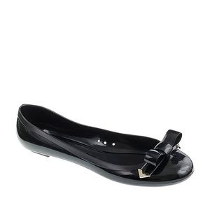 <In Stores> J. Crew Bow Jelly Flats